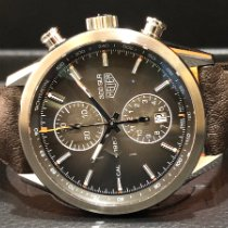 TAG Heuer pre-owned Automatic 41mm Brown Sapphire crystal 10 ATM