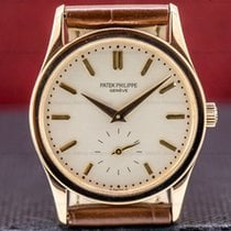 Patek Philippe Calatrava Rose gold 30.5mm Silver United States of America, Massachusetts, Boston