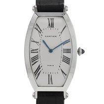 Cartier Tonneau 39mm Champagne Romains France, Paris