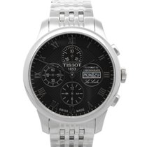 Tissot Le Locle neu 2021 Automatik Chronograph Uhr mit Original-Box und Original-Papieren T006.414.11.053.00