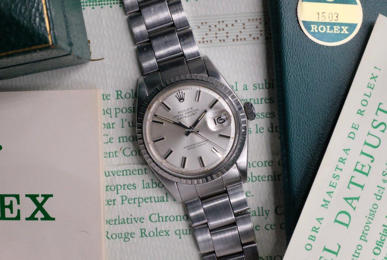 Rolex Datejust 1603 1971 подержанные