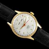 Enicar pre-owned 32.6mm Silver Mineral Glass