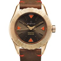 Eterna Bronze 44mm Automatic 1910.78.50.1428 Eterna Kontiki Adventure Bronze new