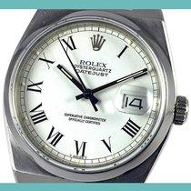 Rolex Datejust Oysterquartz Zeljezo 36mm Bjel Rimski brojevi