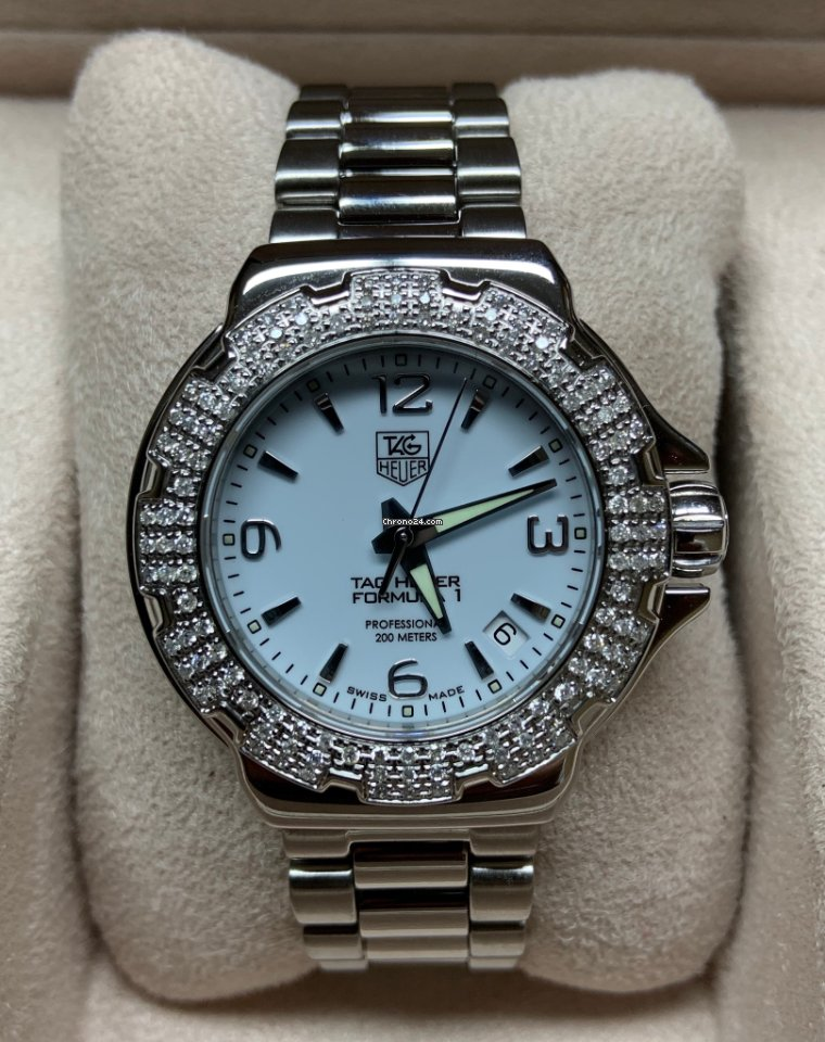 TAG Heuer Formula 1 Lady WAC1215 pre-owned