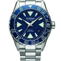 Eterna Steel 44mm Automatic SE1291 Eterna Kontiki Diver Sweden Edition new