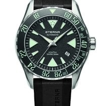 Eterna Steel 44mm Automatic 1290.41.49.1417 Eterna Kontiki Diver new