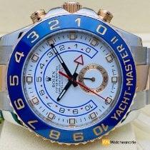 Rolex Yacht-Master II 116681 Muito bom Ouro/Aço 44mm Automático