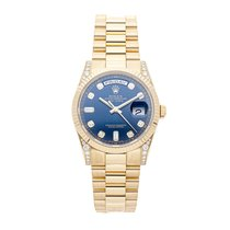 Rolex Day-Date 36 118338 Very good Yellow gold 36mm Automatic