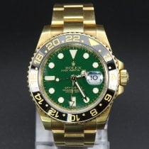 Rolex GMT-Master II Yellow gold 40mm Green No numerals United States of America, New York, Williston Park