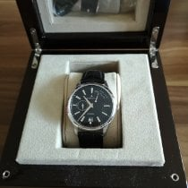 Zenith Elite Power Reserve Acero 40mm Negro Sin cifras