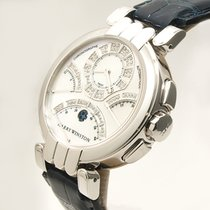 Harry Winston Premier 200-MCRA39W Good White gold 39.1mm Automatic