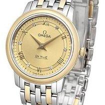 Omega De Ville Prestige Or/Acier 27.4mm Champagne
