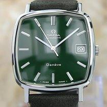 Omega De Ville Acero 32mm Verde Sin cifras