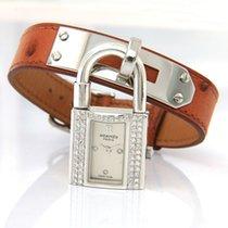 Hermès Silber Quarz Silber 20mm gebraucht Kelly