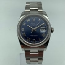Rolex Datejust Acero 36mm Azul