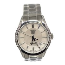 TAG Heuer Carrera Lady pre-owned 36mm Mother of pearl Steel