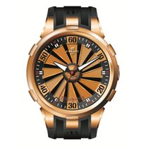 Perrelet Rose gold 50mm Automatic A3030/1 pre-owned