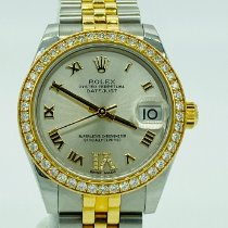 Rolex Datejust Gold/Stahl 31mm Silber