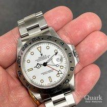 Rolex Explorer II Stahl 40mm Weiß