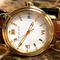 Blancpain Léman Ultra Slim Yellow gold 38mm White United States of America, Pennsylvania, Philadelphia
