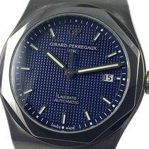 Girard Perregaux Laureato occasion 41mm Bleu Date Acier