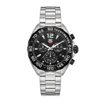 TAG Heuer Formula 1 Quartz Steel 43mm Black No numerals United States of America, Illinois, Willowbrook