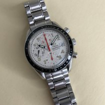 Omega Speedmaster Date Steel 38mm Silver Arabic numerals United States of America, New Jersey, West Orange