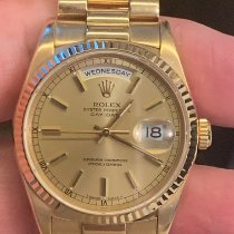 Rolex Day-Date 36 Or jaune 36mm Or (massif) Sans chiffres Belgique, Wemmel