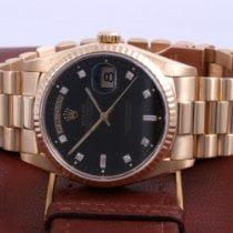 Rolex Day-Date 36 Yellow gold 36mm Black No numerals United States of America, California, Beverly Hills