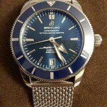 Breitling Superocean Héritage II 42 подержанные 42mm Синий Дата Сталь