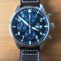 IWC Pilot Chronograph Steel 43mm Blue Arabic numerals