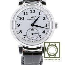 IWC Da Vinci Automatic Acier 40.4mm Blanc Arabes