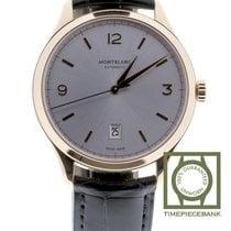 Montblanc Heritage Chronométrie Red gold 40mm Silver Arabic numerals