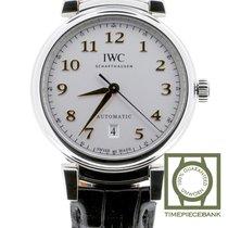 IWC Da Vinci Automatic Stål 40mm Silver Arabiska
