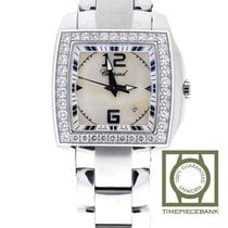Chopard Two O Ten Goud/Staal 34mm Wit Arabisch