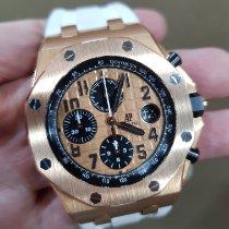 Audemars Piguet 26470OR.OO.A002CR.01 Pозовое золото 2015 Royal Oak Offshore Chronograph 42mm подержанные