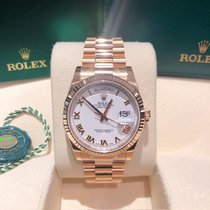 Rolex Day-Date 36 Or rose 36mm Rose Sans chiffres