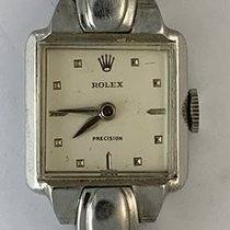 Rolex Oyster Precision Steel 18mm White United States of America, California, Woodland Hills. We accept cryptocurrency
