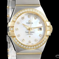 Omega Constellation Ladies Gold/Steel 31mm Mother of pearl