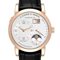 A. Lange & Söhne Lange 1 Rose gold 38.5mm Silver Roman numerals United States of America, Georgia, Atlanta