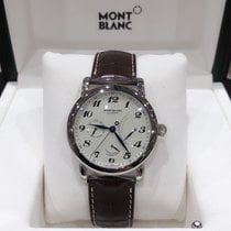 Montblanc Steel 42mm Automatic 106462 new