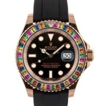 Rolex Yacht-Master 40 Or rose 40mm Noir