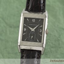 Jaeger-LeCoultre Or blanc Remontage manuel Gris 26mm occasion Reverso (submodel)