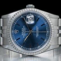 Rolex Datejust Acciaio 36mm Blu Italia, Bologna