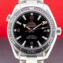 Omega Seamaster Planet Ocean Stål 42mm Svart Arabisk