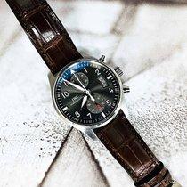 IWC Pilot Spitfire Chronograph Acier 43mm Gris Arabes France, Marseille