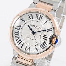 Cartier Ballon Bleu 36mm neu 2020 Automatik Uhr mit Original-Box und Original-Papieren W2BB0003