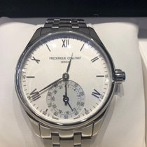 Frederique Constant Horological Smartwatch Steel 42mm Silver Roman numerals