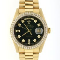 Rolex Yellow gold Day-Date 36 pre-owned United States of America, New York, New York